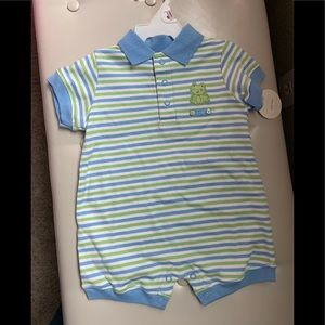 NWT boys Carter's romper size 9 mos